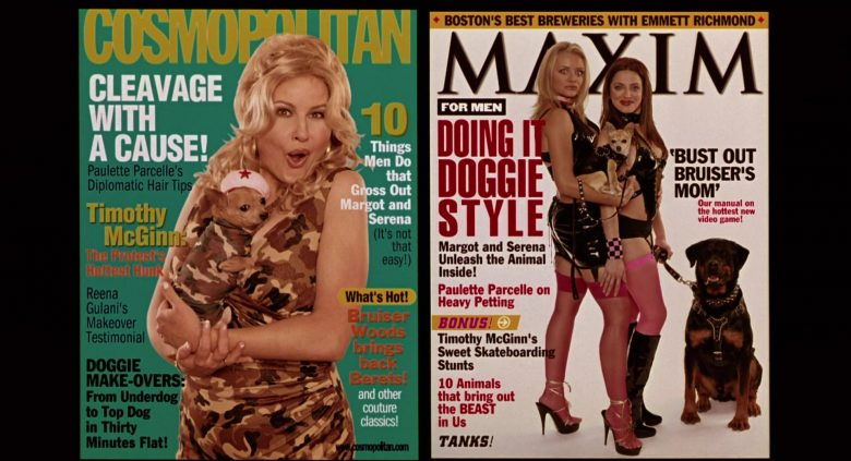 Cosmopolitan and Maxim Magazines in Legally Blonde 2: Red, White & Blonde (2003) - Movie Product Placement