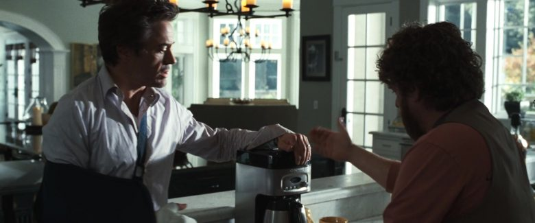 Cuisinart Coffee Maker in Due Date (2010) - Movie Product Placement