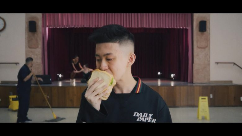 Daily Paper Black Shirt Worn by Rich Brian in 100 Degrees (2019) - Official Music Video Product Placement