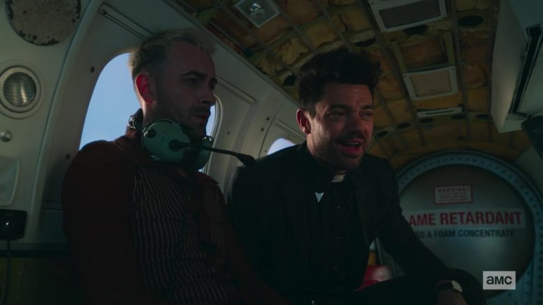 David Clark Aviation Headset Used by Joseph Gilgun as Proinsias Cassidy in Preacher - Season 4, Episode 6, The Lost Apostle (2019) - TV Show Product Placement