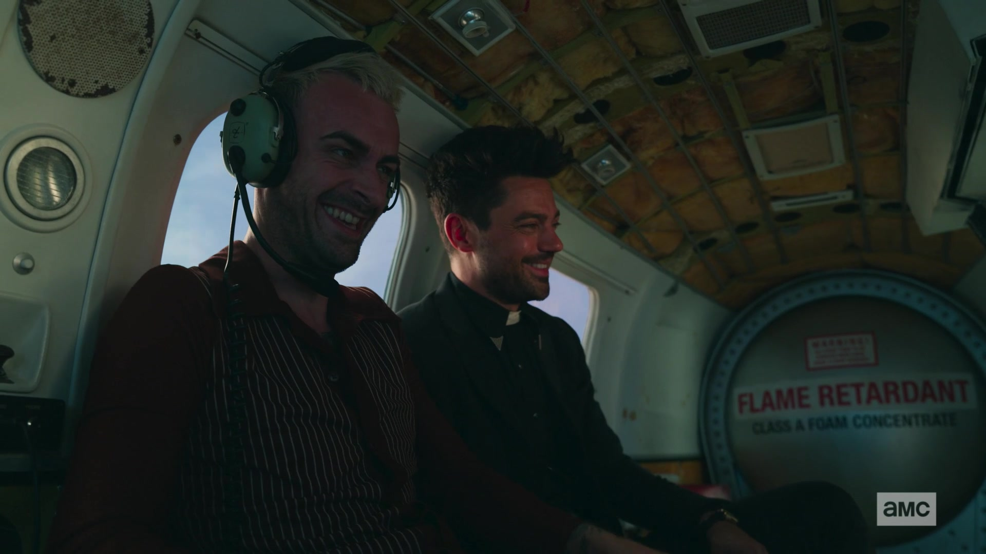 David Clark Aviation Headset Used by Joseph Gilgun as