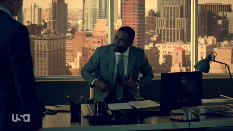 Dell Computer Monitor Used by Dulé Hill in Suits - Season 9, Episode 4, Cairo (2019) - TV Show Product Placement
