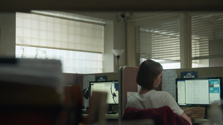 Dell Computer Monitor Used by Maia Mitchell in Good Trouble - Season 2, Episode 8, Disruptions (2019) - TV Show Product Placement