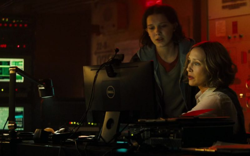 Dell Computer Monitor Used by Millie Bobby Brown and Vera Farmiga in Godzilla King of the Monsters (1)