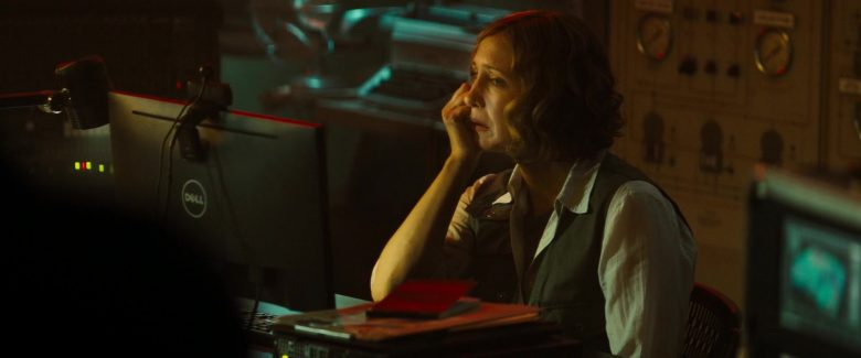 Dell Computer Monitor Used by Millie Bobby Brown and Vera Farmiga in Godzilla: King of the Monsters (2019) - Movie Product Placement