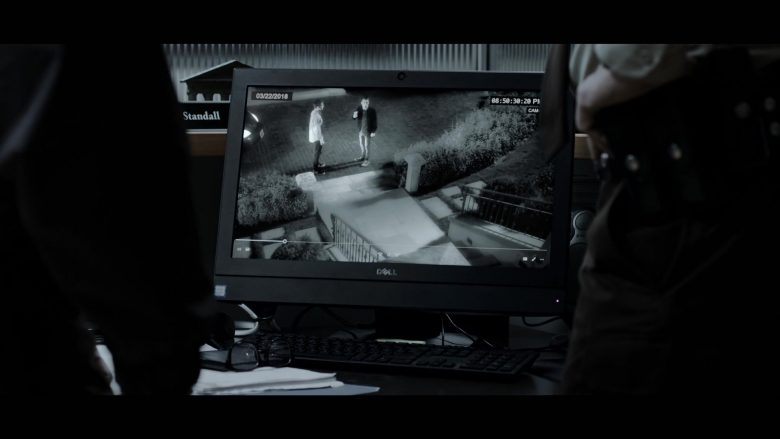 "Dell Computer Monitor in 13 Reasons Why - Season 3, Episode 6, ""You Can Tell the Heart of a Man by How He Grieves"" (2019) - TV Show Product Placement"