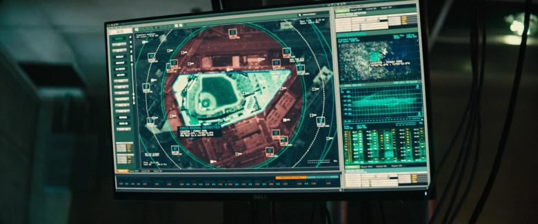 Dell Computer Monitor in Godzilla: King of the Monsters (2019) - Movie Product Placement