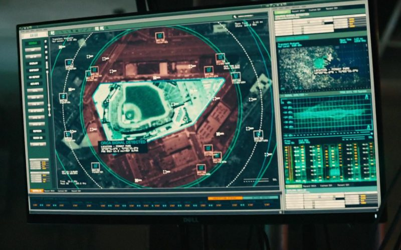Dell Computer Monitor in Godzilla King of the Monsters