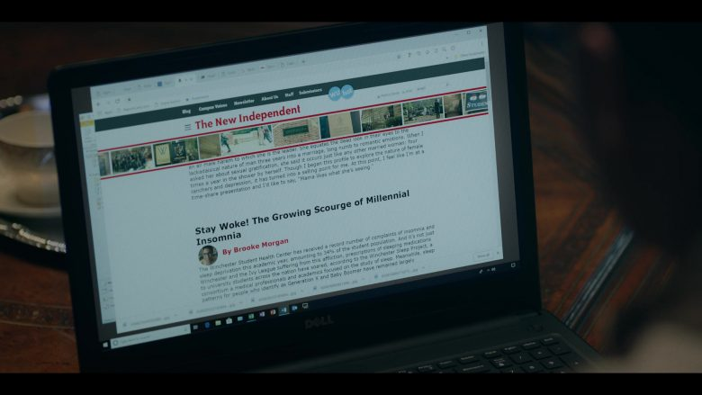 Dell Notebook in Dear White People - Season 3, Episode 3 (2019) - TV Show Product Placement