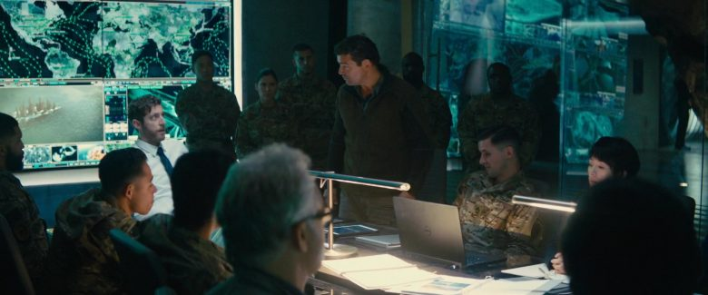 Dell Notebook in Godzilla: King of the Monsters (2019) - Movie Product Placement