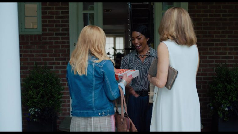 Dunkin' Donuts Box Held by Angela Bassett in Otherhood (2019) - Movie Product Placement