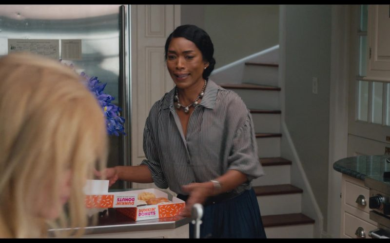 Dunkin' Donuts Box Held by Angela Bassett in Otherhood (5)