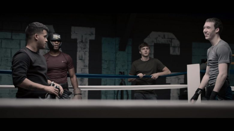 """Everlast Headgear and Nike Tee in 13 Reasons Why - Season 3, Episode 3, """"The Good Person is Indistinguishable from the Bad"""" (2019) TV Show"""