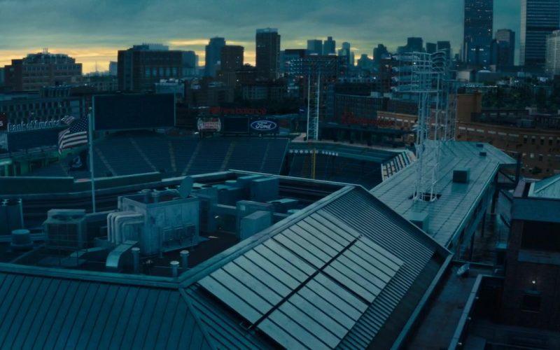 Fanatics, Bank Of America, New Balance, Dunkin' Donuts, Ford and Budweiser Signs in Godzilla (1)
