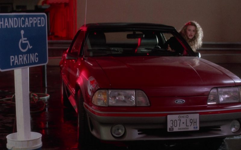 Ford Mustang Car in Heathers (