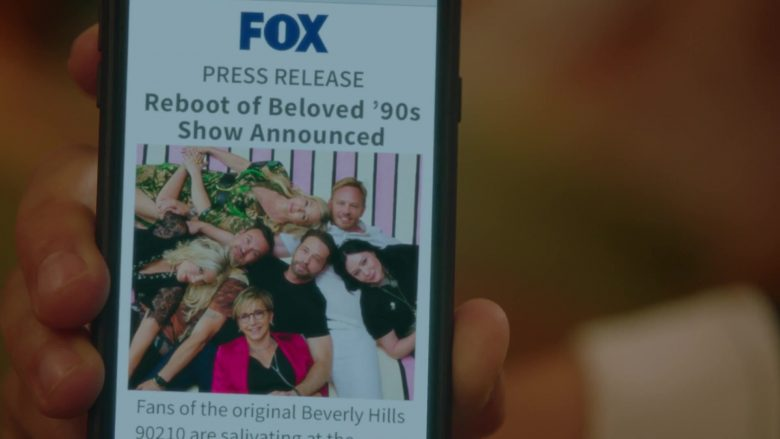 Fox in BH90210 - Season 1, Episode 4, The Table Read (2019) - TV Show Product Placement