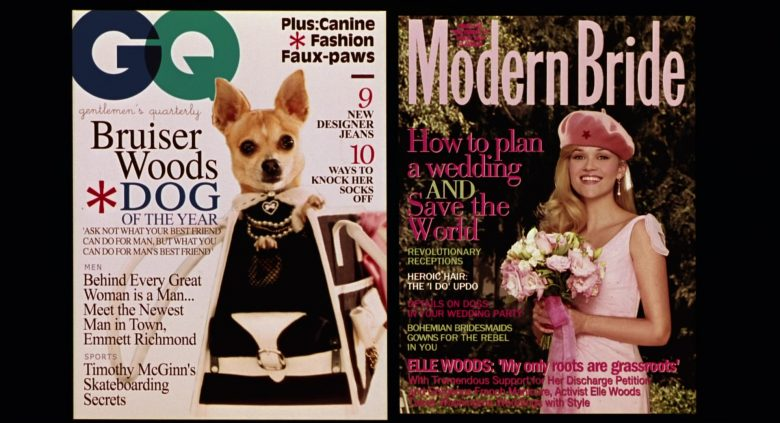 GQ and Modern Bride Magazines in Legally Blonde 2: Red, White & Blonde (2003) - Movie Product Placement