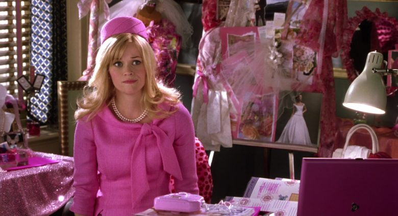 Gateway Notebook Used by Reese Witherspoon as Elle Woods in Legally Blonde 2: Red, White & Blonde (2003) Movie