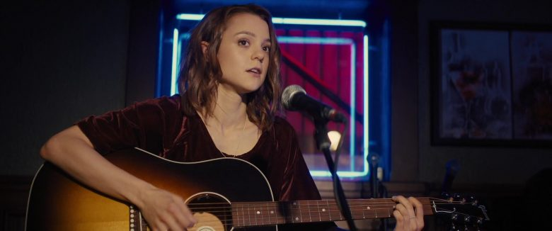 Gibson Guitar Used by Kathryn Prescott in A Dog's Journey (2019) - Movie Product Placement