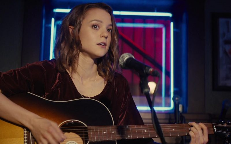 Gibson Guitar Used by Kathryn Prescott in A Dog's Journey (4)