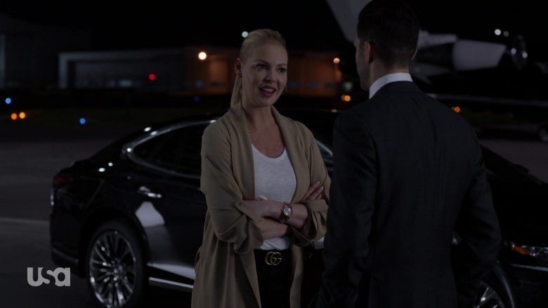 Gucci Belt Worn by Katherine Heigl in Suits - Season 9, Episode 6, Whatever it Takes (2019) - TV Show Product Placement