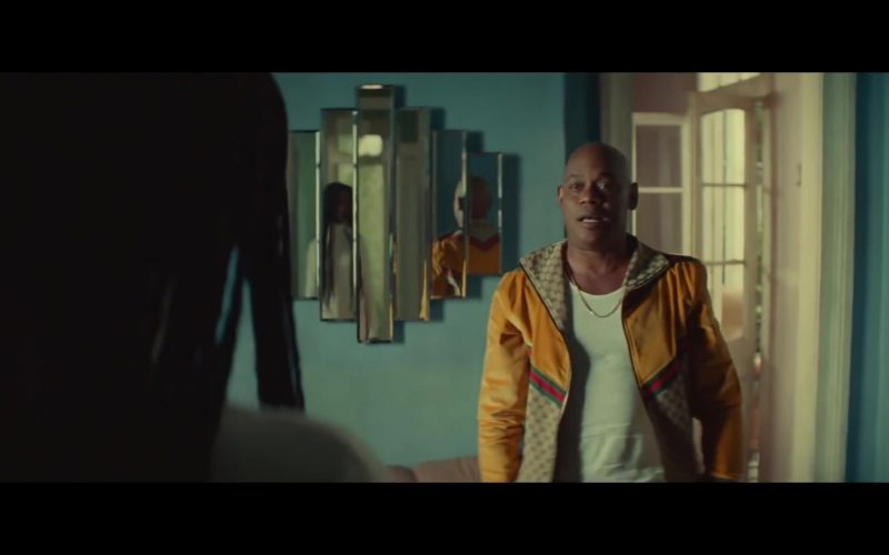 Gucci Jacket Worn by Bokeem Woodbine as Uncle Earl in Queen & Slim (2)