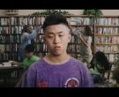 Guess Purple T-Shirt Worn by Rich Brian in 100 Degrees (2)