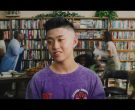 Guess Purple T-Shirt Worn by Rich Brian in 100 Degrees (3)