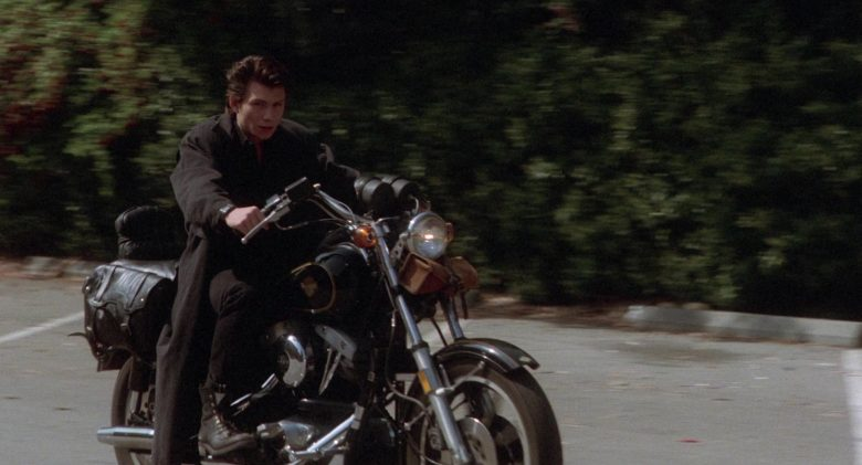 Harley-Davidson FXRS-SP Low Rider Motorcycle Used by Christian Slater as Jason Dean in Heathers (1988) - Movie Product Placement
