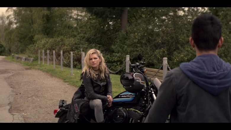 Harley-Davidson Motorcycle Used by Katheryn Winnick in Wu Assassins - Season 1, Episode 8, Ladies' Night (2019) - TV Show Product Placement