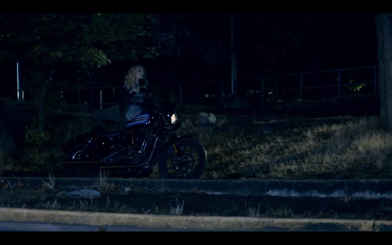 Harley-Davidson Motorcycle Used by Katheryn Winnick in Wu Assassins (1)