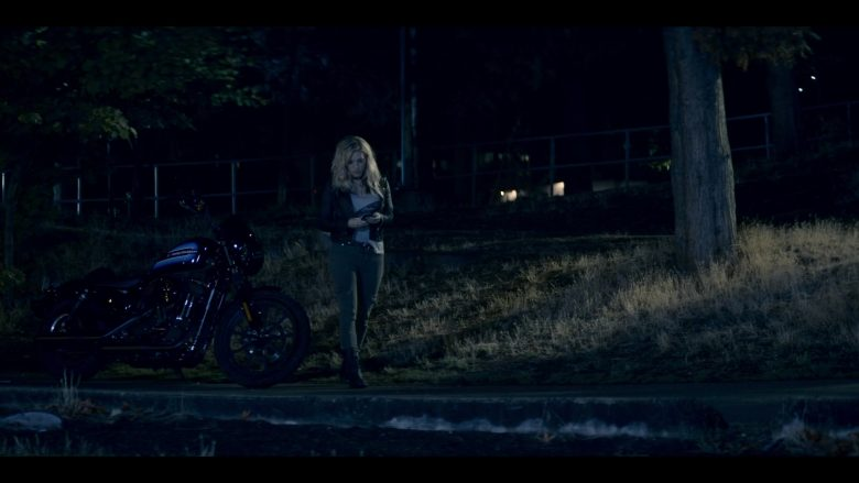 Harley-Davidson Motorcycle Used by Katheryn Winnick in Wu Assassins - Season 1, Episode 4, A Twisting Snake (2019) - TV Show Product Placement