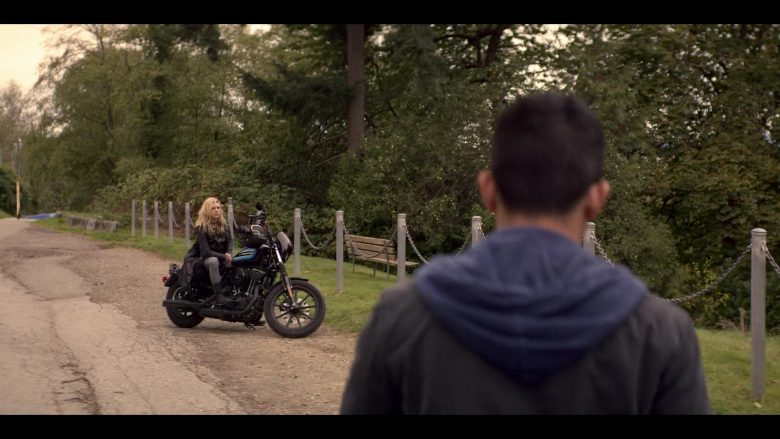 Harley-Davidson Motorcycle Used by Katheryn Winnick in Wu Assassins - Season 1, Episode 6, Gu Assassins (2019) - TV Show Product Placement