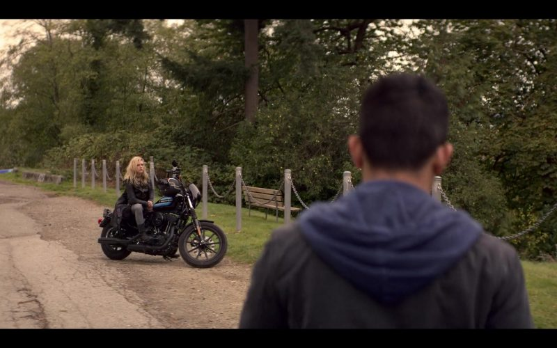 Harley-Davidson Motorcycle Used by Katheryn Winnick in Wu Assassins