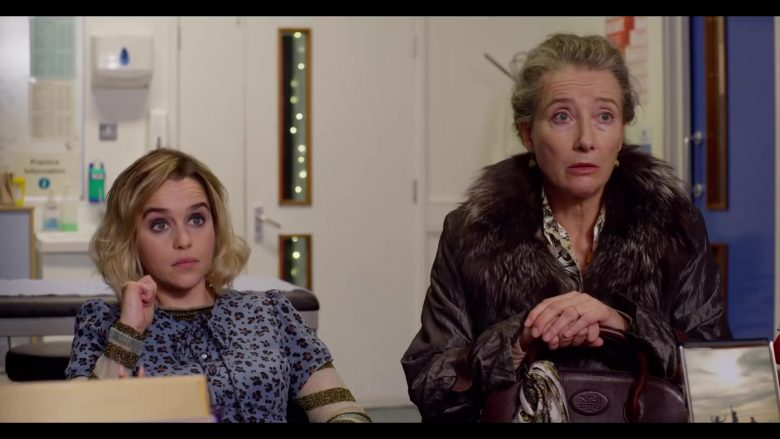 Hermès Handbag Used by Emma Thompson in Last Christmas (2019) - Movie Product Placement