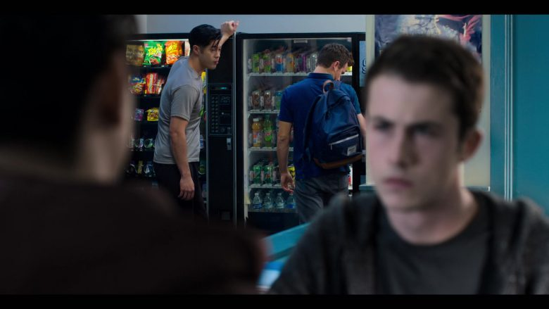 """Herschel Backpack, Takis, Mountain Dew, 7Up in 13 Reasons Why - Season 3, Episode 9, """"Always Waiting for the Next Bad News"""" (2019) - TV Show Product Placement"""