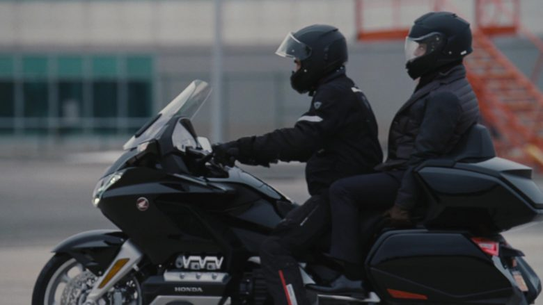Honda Motorcycle in Succession - Season 2, Episode 1, The Summer Palace (2019) - TV Show Product Placement