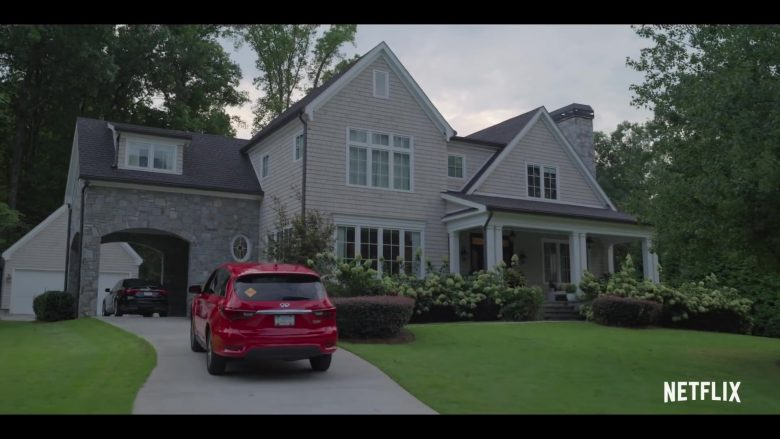 Infiniti QX60 Red Car Used by Marlon Wayans in Sextuplets (2019) - Movie Product Placement