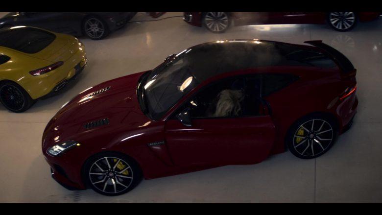 Jaguar F-Type Red Sports Car in Wu Assassins - Season 1, Episode 5, Codladh Sámh (2019) TV Show