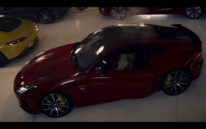 Jaguar F-Type Red Sports Car in Wu Assassins
