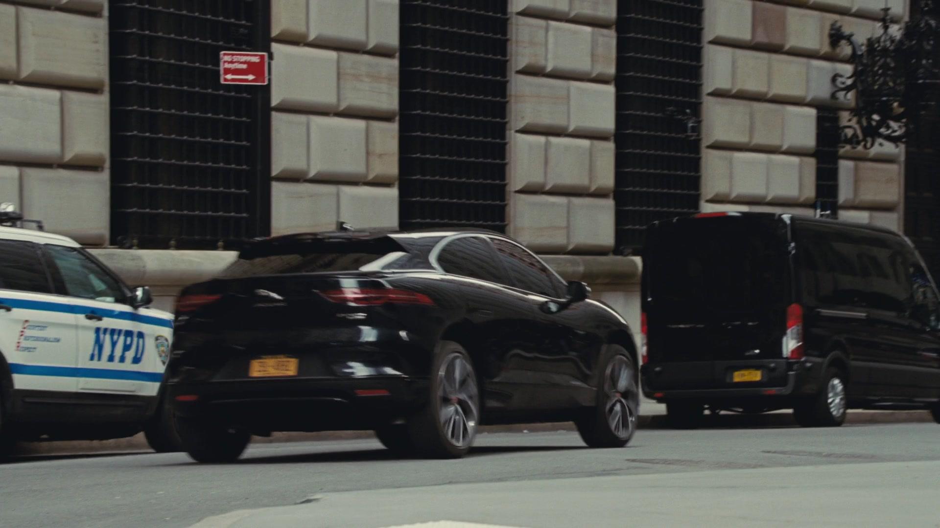 Jaguar I-PACE All-Electric Car in Succession - Season 2
