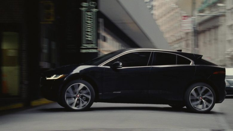 Jaguar I-PACE All-Electric Car in Succession - Season 2, Episode 4, Safe Room (2019) - TV Show Product Placement