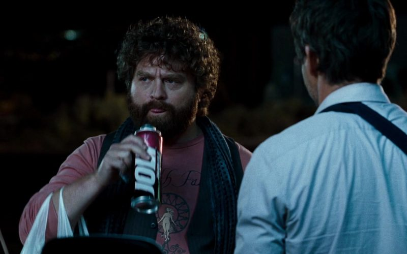 Jolt Cola Enjoyed by Zach Galifianakis in Due Date (1)