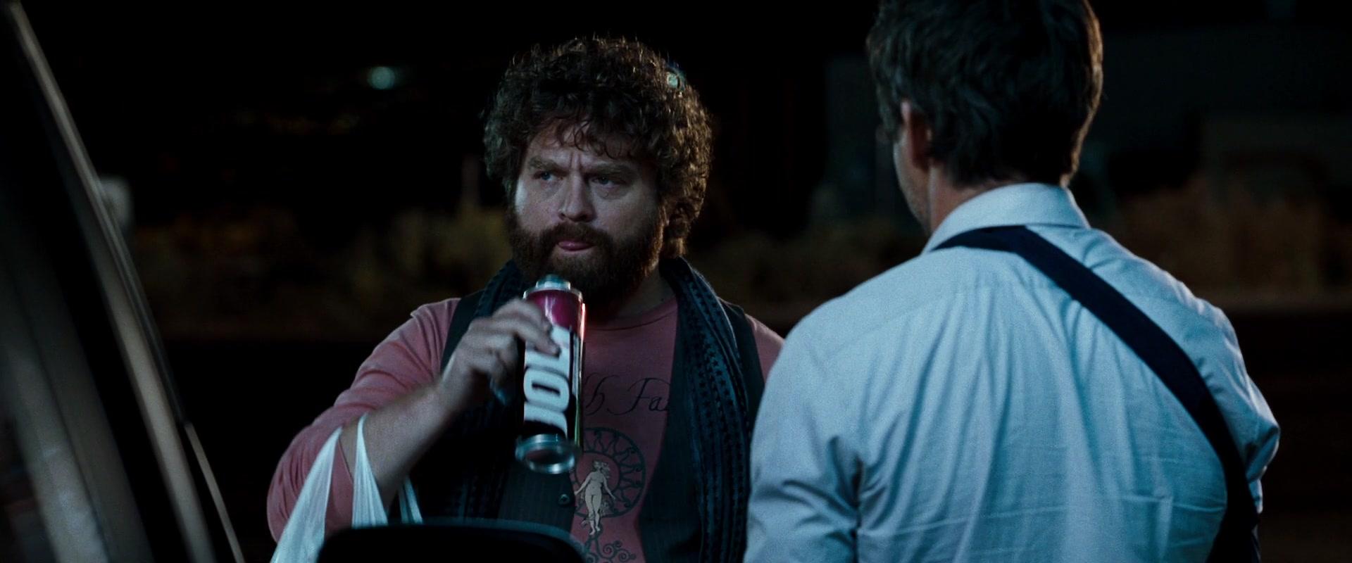 Jolt Cola Enjoyed By Zach Galifianakis In Due Date 2010