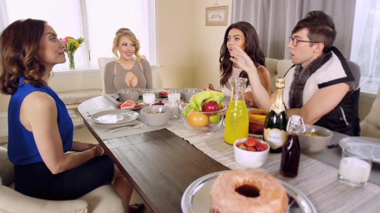 Korbel Champagne Enjoyed by Julia Faye West in Reality Queen! (2019) - Movie Product Placement