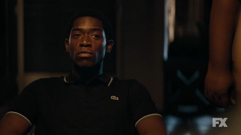 Lacoste Polo Shirt Worn by Damson Idris As Franklin Saint in Snowfall - Season 3, Episode 5, The Bottoms (2019) - TV Show Product Placement