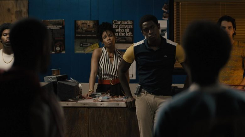 Lacoste Shirt Worn by Damson Idris in Snowfall – Season 3, Episode 4, The Game That Moves as You Play (2019) - TV Show Product Placement