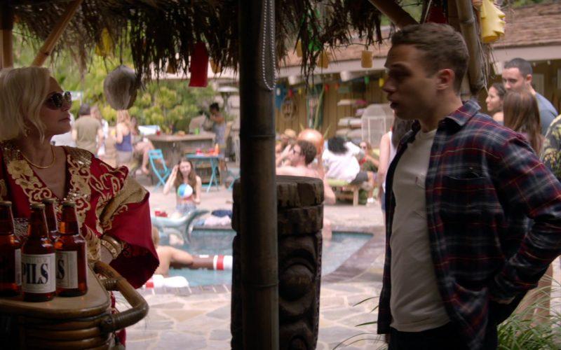 Lagunitas PILS Beer Enjoyed by Ellen Barkin as Janine Cody in Animal Kingdom