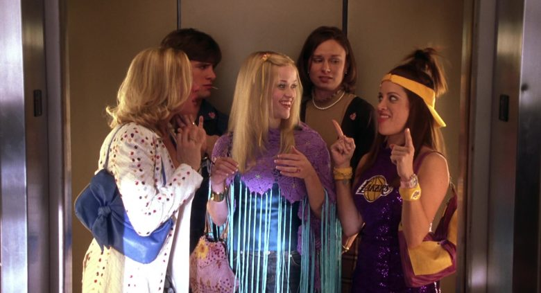 Lakers Sparkly & Embellished Top Worn by Alanna Ubach in Legally Blonde 2: Red, White & Blonde (2003) - Movie Product Placement