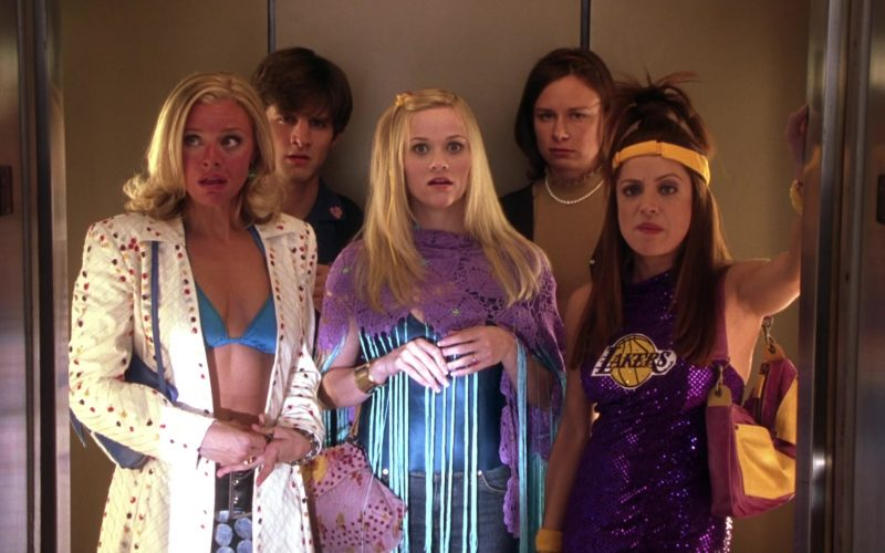 Lakers Sparkly & Embellished Top Worn by Alanna Ubach in Legally Blonde 2 (6)
